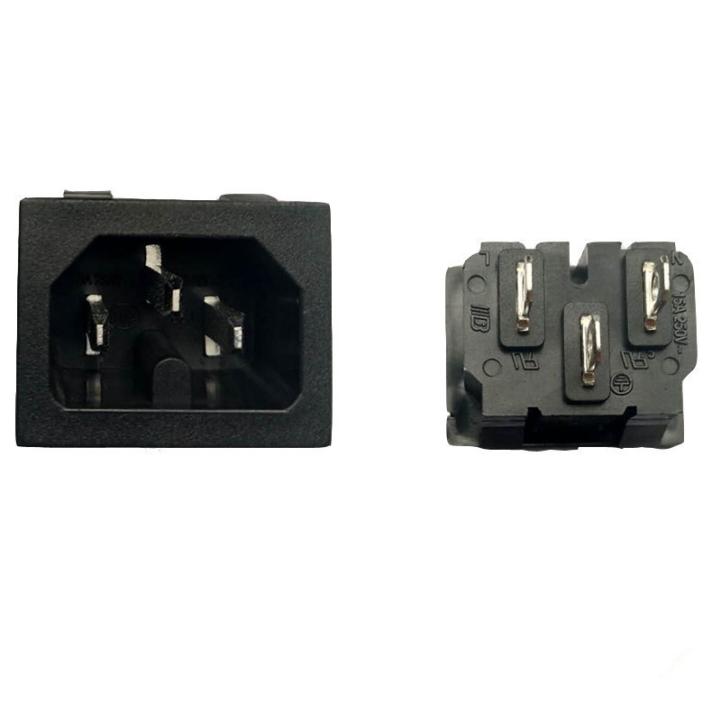 卡式热态认证品字插座 ST-A08-003K-A-Y2