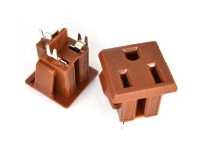 插PCB式美式插座 BS-U15-PCB