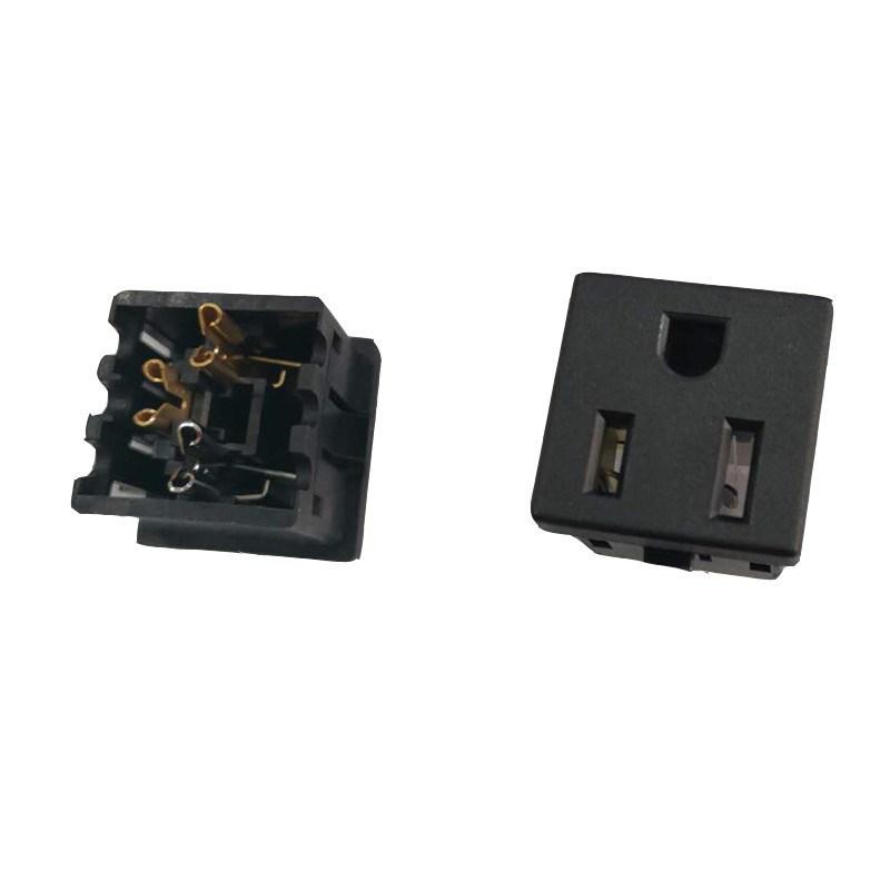 卡线式美标插座 BS-U15-14B