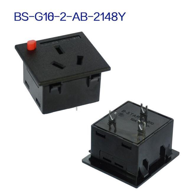 中式防脱母座 BS-C13-15